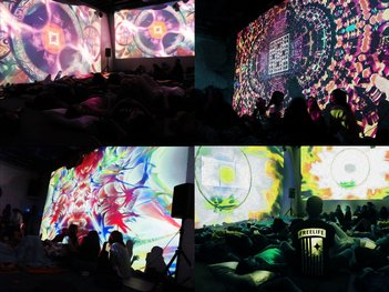 Visual Reality : VR Exhibit and Visual Sound Bath Presented by Torkum Ji
