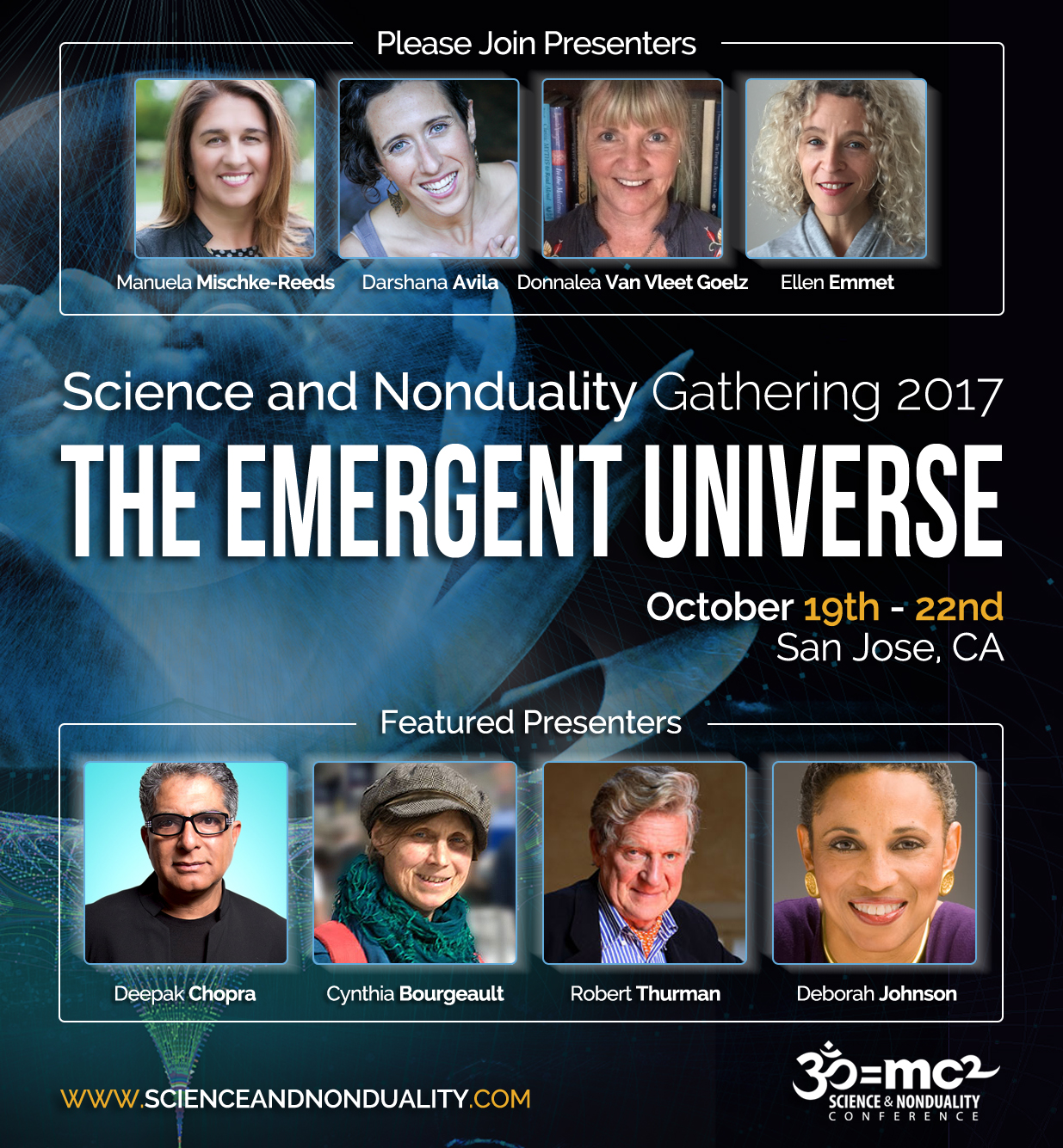 Continuum Movement: An Inquiry into Being - Science and Nonduality Conference (SAND 2017)